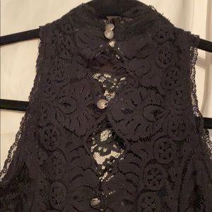 free people lace dress size 0